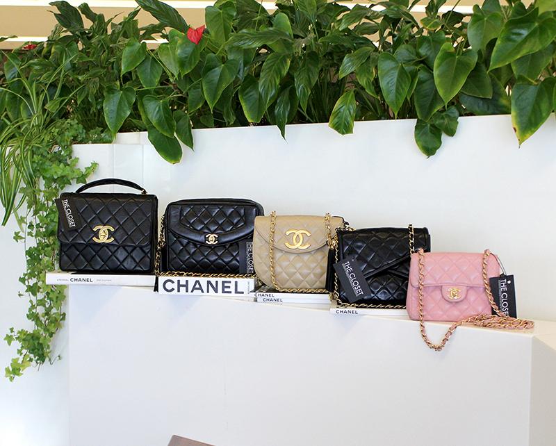 chanel vintage collectn