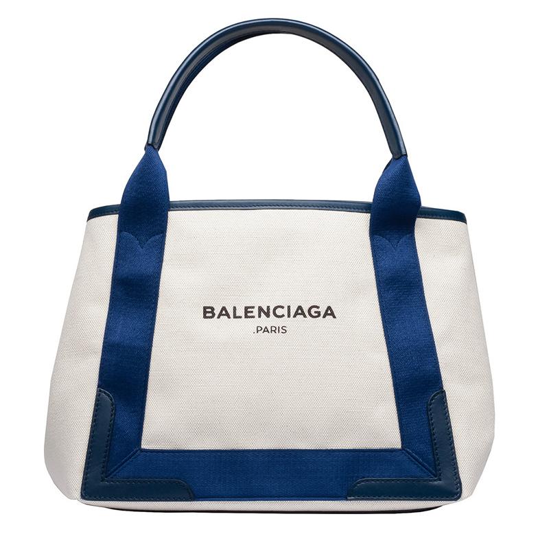 Balenciaga Navy Cabas blue